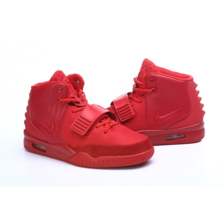 Эксклюзивная брендовая модель Кроссовки Nike Air Yeezy 2 Red