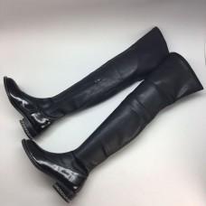 Женские ботфорты Givenchy Black High X