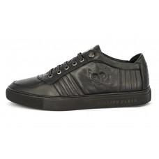 Зимние ботинки Philipp Plein Skull Black Winter