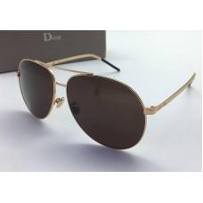Женские солнцезащитные очки Cristian Dior Gold Glasses Broun