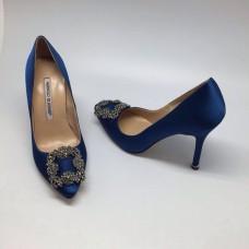 Женские туфли Manolo Blahnik Blue