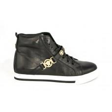 Осенние ботинки Versace Black