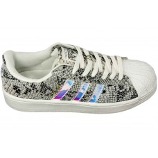 Кроссовки Adidas Superstar Grey/Silver