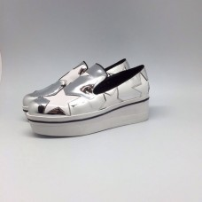Слипоны Stella Mccartney Silver Star