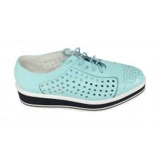 Женские Ботинки Prada Light Blue