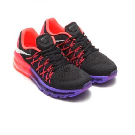 Эксклюзивная брендовая модель Air Max 2015 (black/pink/purple)