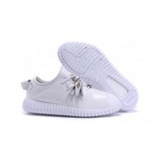 Кроссовки Adidas Yeezy Boost 350 White Leather