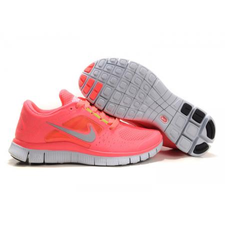 Эксклюзивная брендовая модель Женские летние кроссовки Nike Free Run Pink