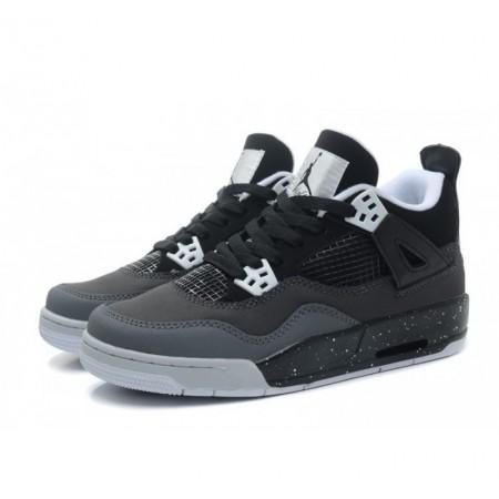 Эксклюзивная брендовая модель Баскетбольные кроссовки NIKE AIR JORDAN 4 GREY