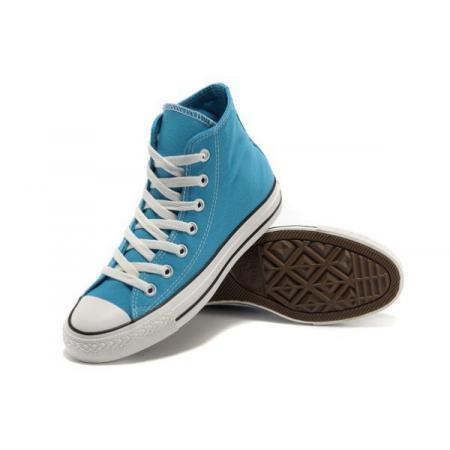 Эксклюзивная брендовая модель Converse All stars Classic High Blue