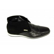 Ботинки Zilli Black CBN