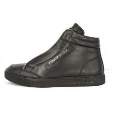 Зимние ботинки Philipp Plein Shadow Edition High Black Winter