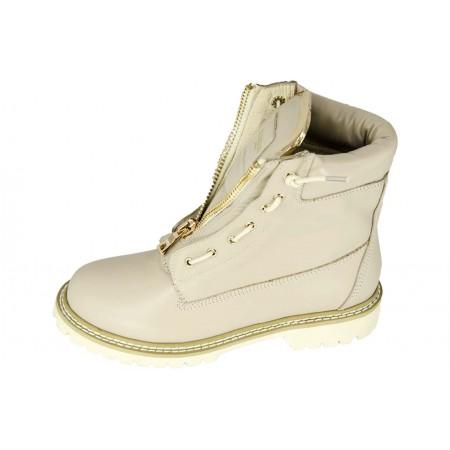 Эксклюзивная брендовая модель Ботинки Balmain Beige High