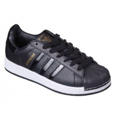 Кроссовки Adidas Superstar Black/White/G