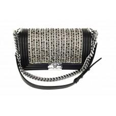 Женская сумка Chanel Black/White