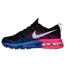 Кроссовки Air Max 2015 Flyknit (Black/Blue/Pink)