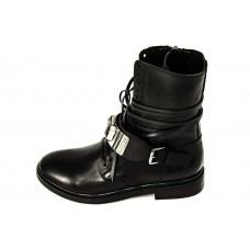 Женские ботинки Casadei Black