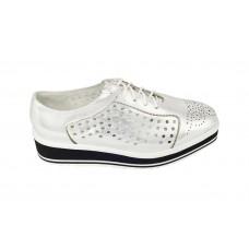 Женские Ботинки Prada Silver