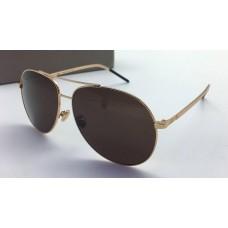 Женские солнцезащитные очки Cristian Dior Gold Glasses