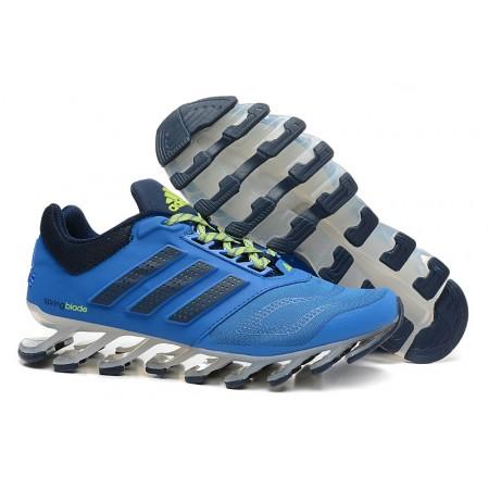 Эксклюзивная брендовая модель Кроссовки беговые Adidas SpringBlade Blue/Black/Green