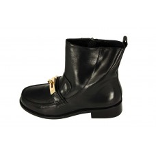 Женские ботинки Hermes High Black