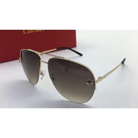 Эксклюзивная брендовая модель Женские солнцезащитные очки Cartier Glasses