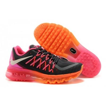 Эксклюзивная брендовая модель Кроссовки Nike Air Max 2015 Grey/Pink/Orange