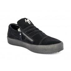 Осенние ботинки Giuzeppe Zanotti Black Velvet