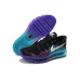 Эксклюзивная брендовая модель Air Max 2015 Flyknit (Blue/Black/Purple)40