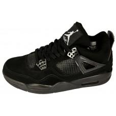 Мужские баскетбольные кроссовки Nike air jordan 4 NEW BLACK