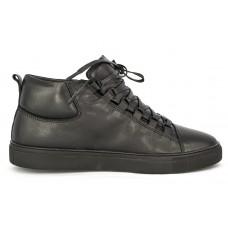 Осенние ботинки Balenciaga High Black