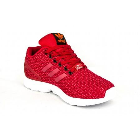 Эксклюзивная брендовая модель Кроссовки Adidas ZX Flux Red