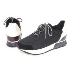 Женские брендовые летние кроссовки Hermes Sneakers Black
