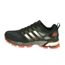 Мужские беговые кроссовки Adidas Marathon Flyknit черные