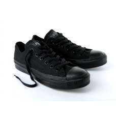 CONVERSE by CHUCK TAYLOR ALL STARS Low Night black