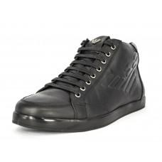 Осенние ботинки Emporio Armani Black