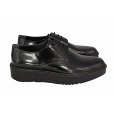 Ботинки Prada Oxford Black Leather