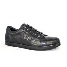 Осенние ботинки Emporio Armani Low Black