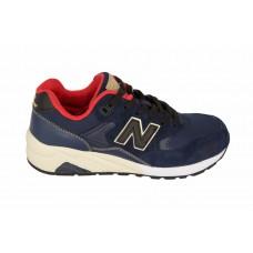 Мужские кожаные кроссовки New Balance Blue