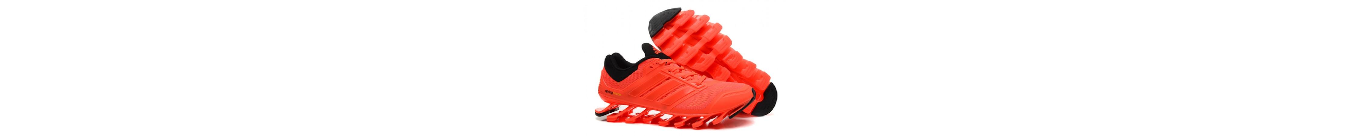 Эксклюзивная брендовая модель Беговые кроссовки Adidas SpringBlade Light Orange NEW
