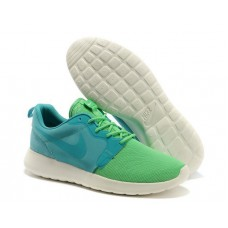 Кроссовки Nike Roshe Run Green/Ligth Blue
