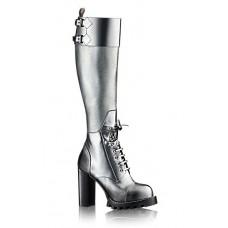 Женские брендовые сапоги Louis Vuitton Star Trial на платформе