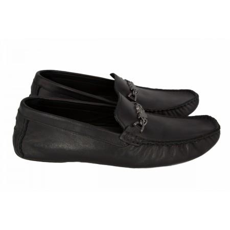 Эксклюзивная брендовая модель Мокасины Emporio Armani Black