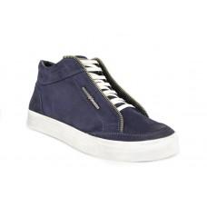 Зимние ботинки Millioner Blue Velvet High
