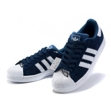 Кроссовки Adidas Superstar Blue/White