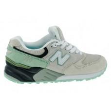 Женские летние кроссовки New Balance 999 Grey/Green