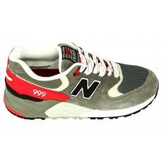 Мужские кроссовки New Balance 999 Grey/Red V