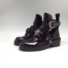 Женские ботинки Balenciaga Leather S