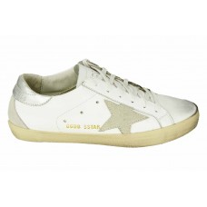 Кеды Golden Goose Deluxe Brand White/Silver