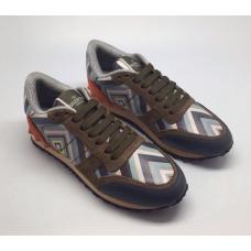 Женские кожаные кроссовки Valentino Garavani Rockstud цветные